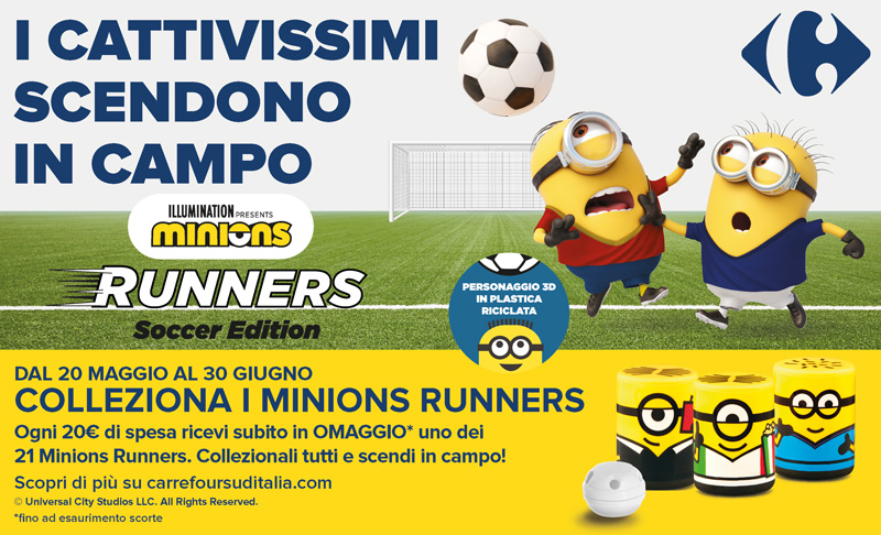 Minions Runners Soccer Edition